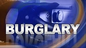 Paris PD investigate several burglaries over the weekend
