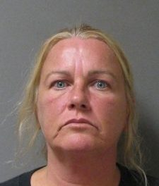 Female picked up on felony warrant for deprive right of custody