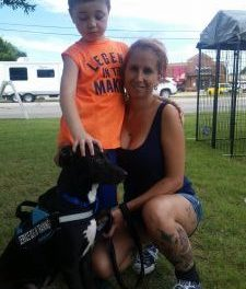 From the shelter, to foster home, to Service Dog – Ryder makes a difference in one family's life