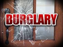 Paris PD investigate two home burglaries