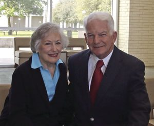 PJC names fundraising alumni Ronnie and Nancy Rhodes