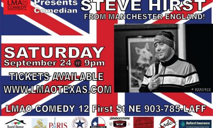 LMAO Comedy Club presents Steve Hirst Saturday night
