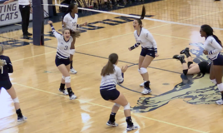 Ladycats clinch Volleyball Playoff Berth