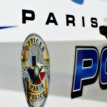 Paris PD arrest report April 27, 2017