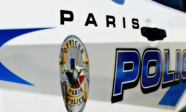 Paris PD arrest report January 18, 2017