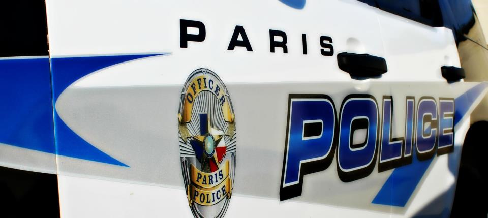 Paris PD arrest report March 20, 2017