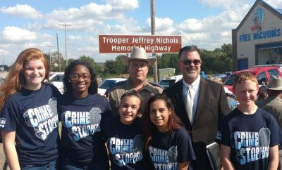 PHS Crime Stoppers attend highway dedication