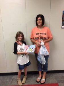 Chisum Elementary collects for soldier care packages