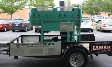Local businesses restores Iron Lung