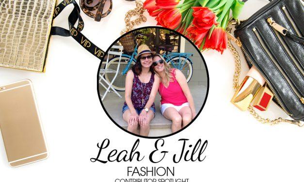 Contributor Spotlight – Leah & Jill