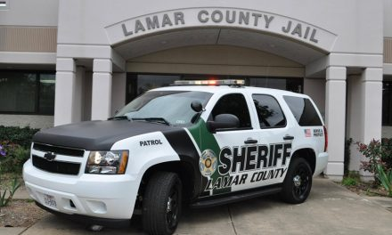 Lamar County Sheriff's inmate booking report April 18, 2017
