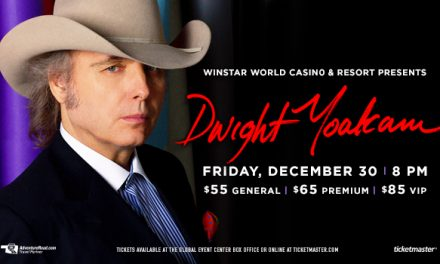 Dwight Yoakam at the WinStar Casino on December 30