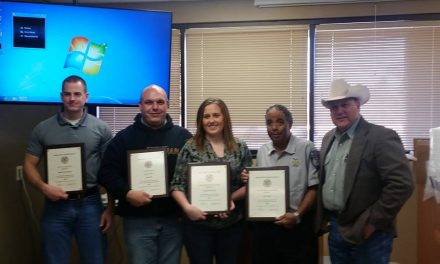 Sheriff's Department recognizes Civilian Employees of the Year