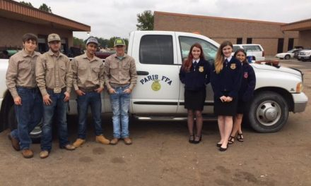 Paris FFA Participates in Texas FFA Leadership Development Events
