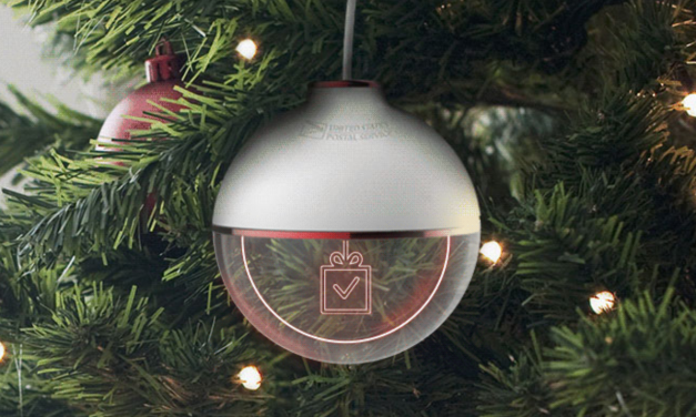 USPS package-tracking Christmas ornament makes waiting for gifts a little more festive