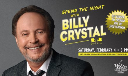 Billy Crystal at the WinStar Casino in February