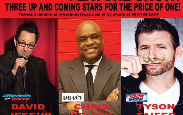 Triple Feature Show at LMAO Comedy Club this month
