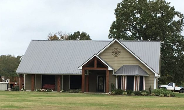 Craftsman style home on 15 acres
