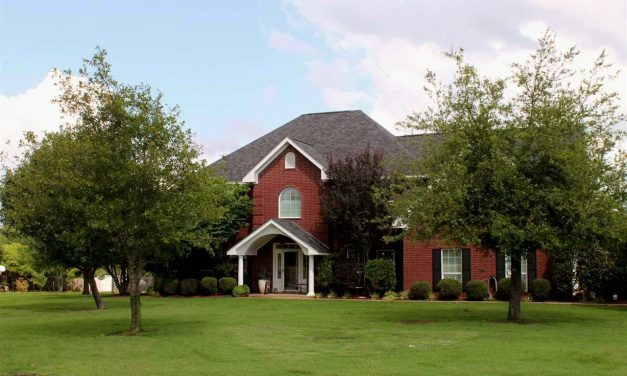 Beautiful 2 story steel framed brick home