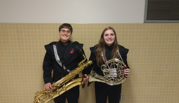 Chisum High students selected for Region Symphonic Band