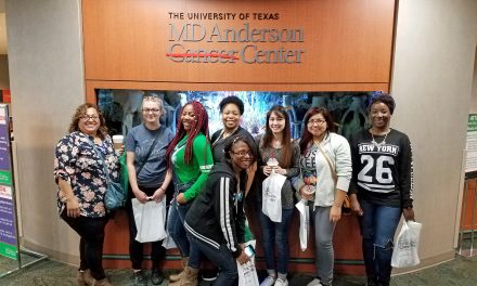 PJC biomedical sciences students tour UT-MD Anderson Cancer Center in Houston