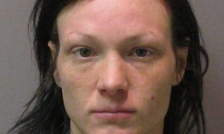 Female found with meth