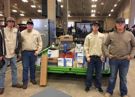 North Lamar's Agricultural Mechanics Team Takes First at Ft. Worth Stock Show