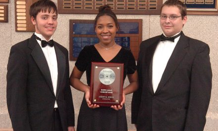 North Lamar High School Concert Band Earns National Recognition