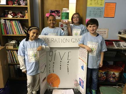 Project G.I.V.E. supports education in Africa
