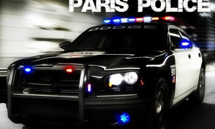 Paris PD arrest report January 31, 2017