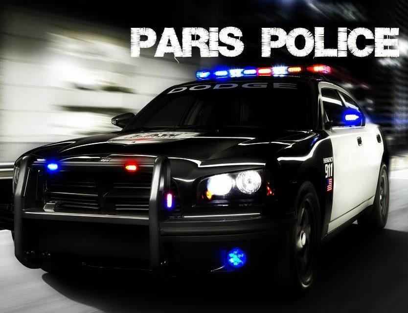 Paris PD arrest report March 28, 2017