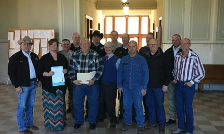 Lamar County Commissioner's Court honor Willows and Morris