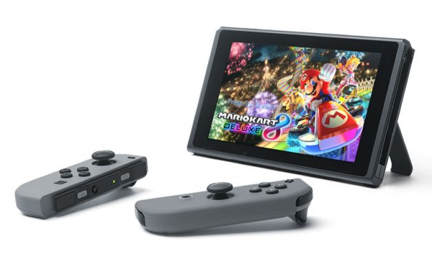 The Nintendo Switch launches on March 3rd for $299