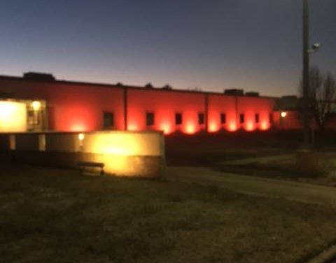 Paris Police Department goes red for Heart Health Month