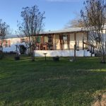 Mobile home on large lot