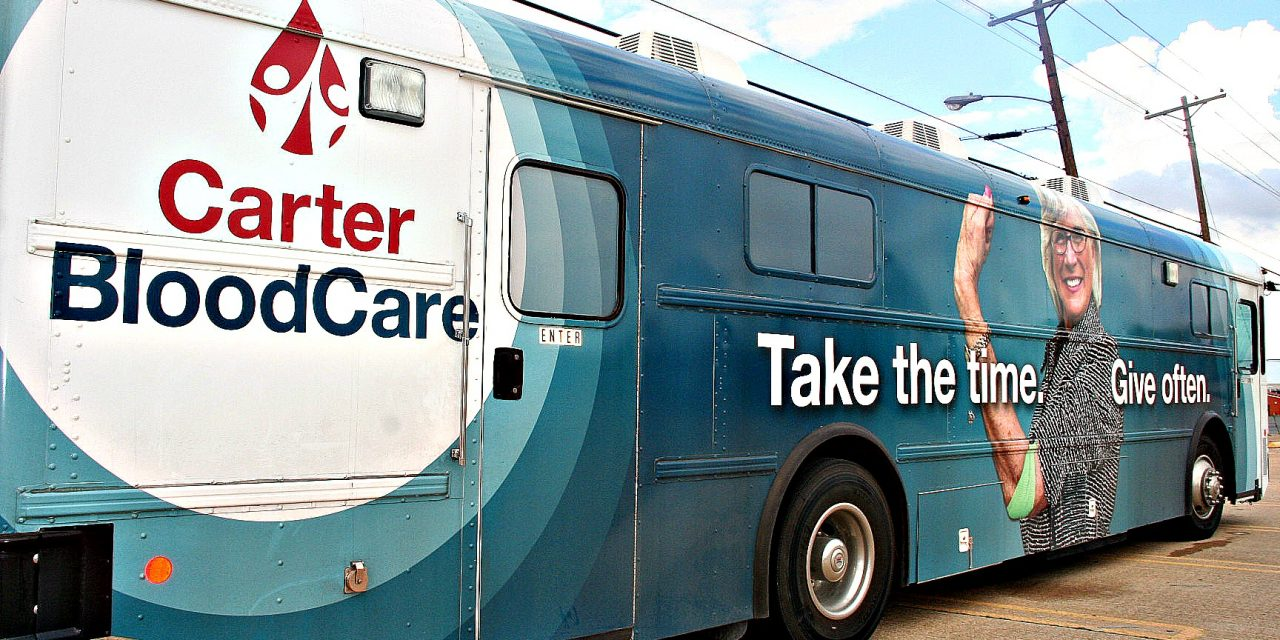 Lamar Avenue Church of Christ to host Carter BloodCare drive tomorrow