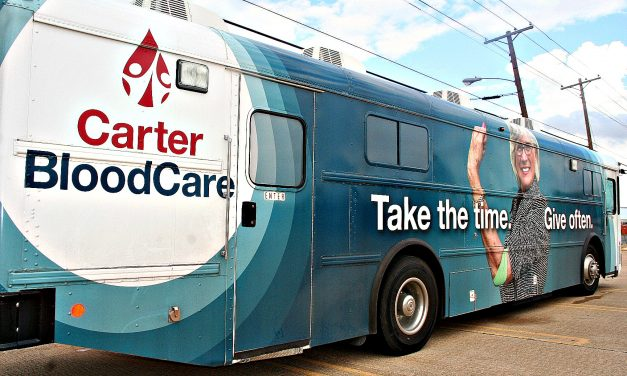 City of Paris joins Carter BloodCare to host drive during most difficult donor recruitment season