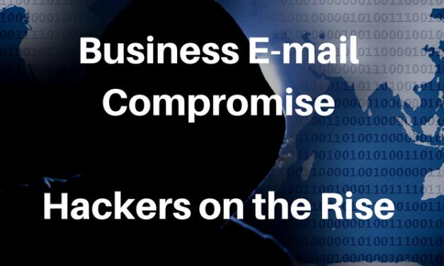 Business E-Mail Compromise – FBI caution
