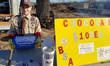 Local Boy Scouts raise money with chocolate sales