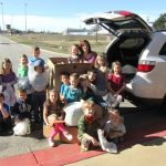 Higgins kindergarten class wins bag collection for Downtown Food Pantry