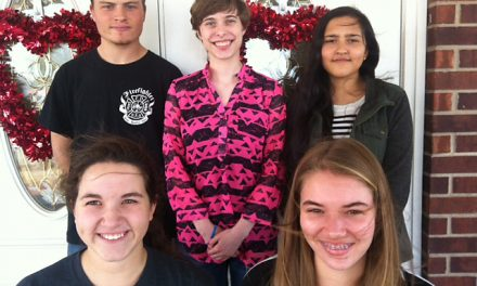 NL Key Club hands out Valentine treats for Lamar Place residents