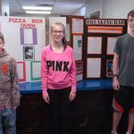 North Lamar middle school students return from Regional Science Fair with ribbons