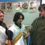 NLHS Pre-AP students learn through playing out history