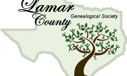 Lamar County Genealogy Society Meeting