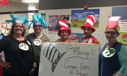 Green Eggs and Ham Celebration at Chisum Elementary