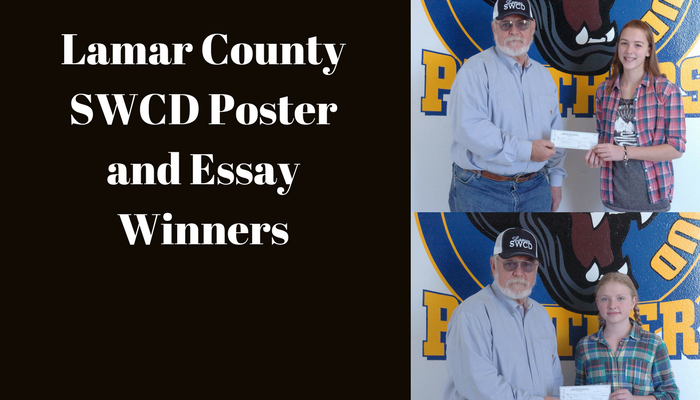 Lamar County SWCD Poster and essay winners named at Stone ...