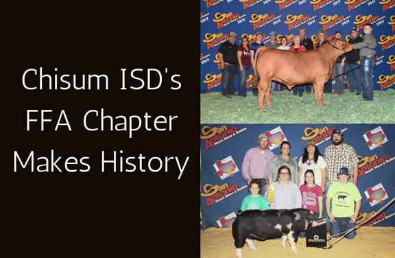 Chisum ISD's FFA Chapter Makes History
