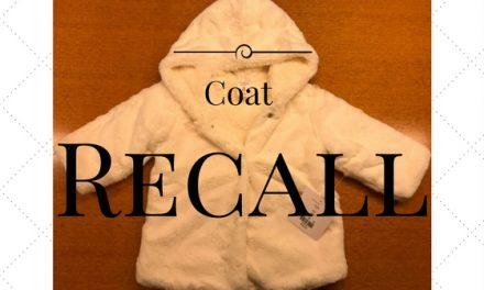 Dillard's recalls baby jacket