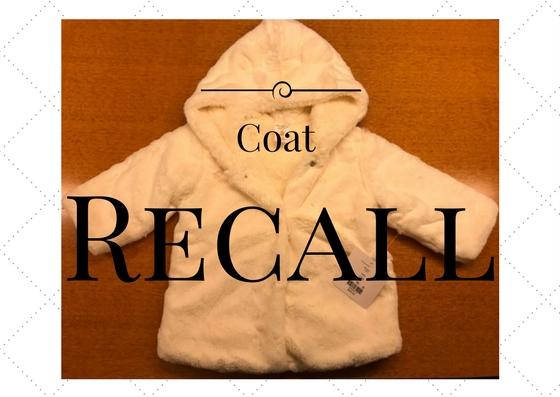 76b0ae03cbe8 Recalls on baby jacket from Dillard s
