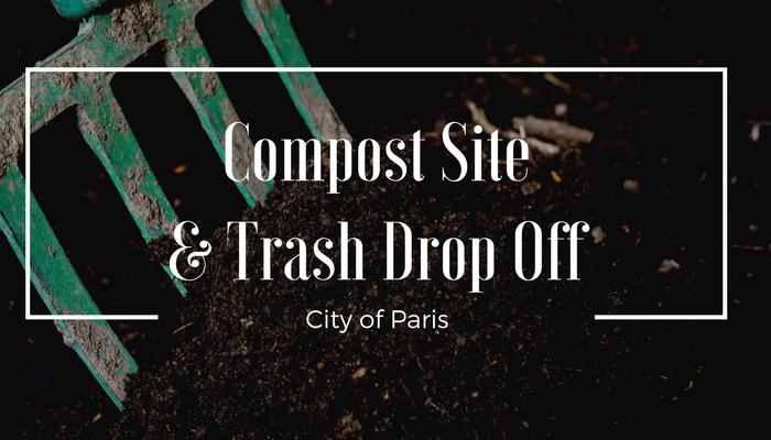 Compost Site and Trash Drop Off – City of Paris